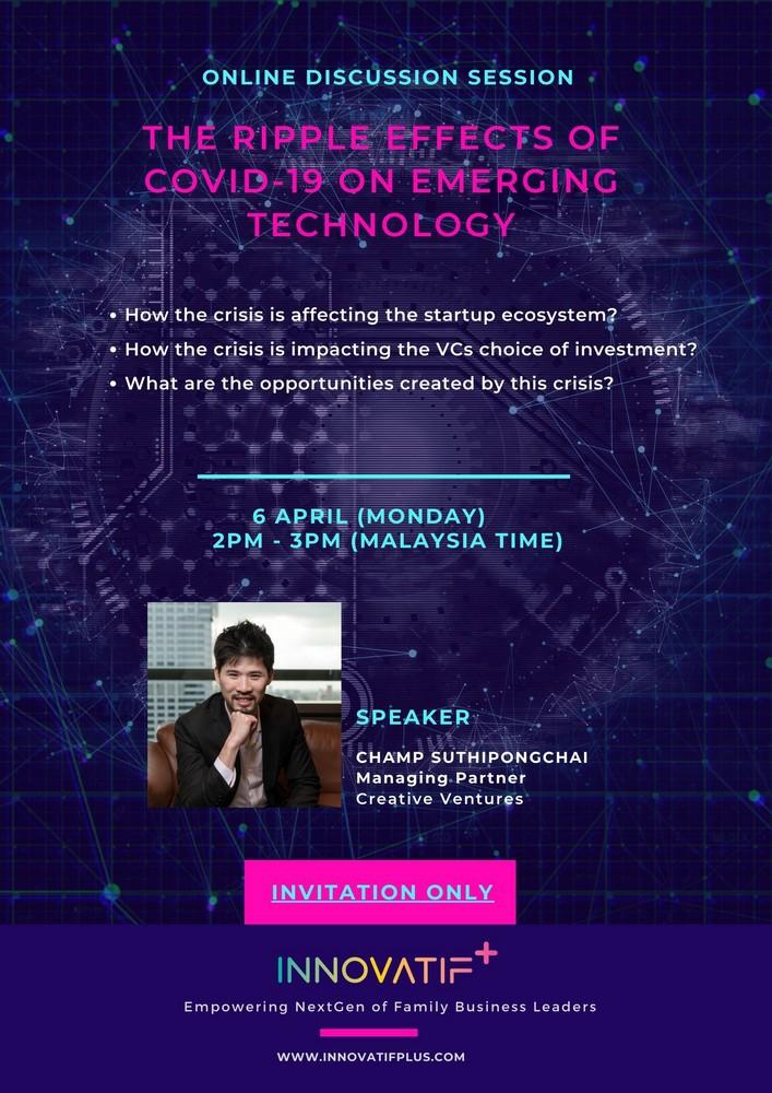 Innovatif+ Startup Ecosystem during Covid-19